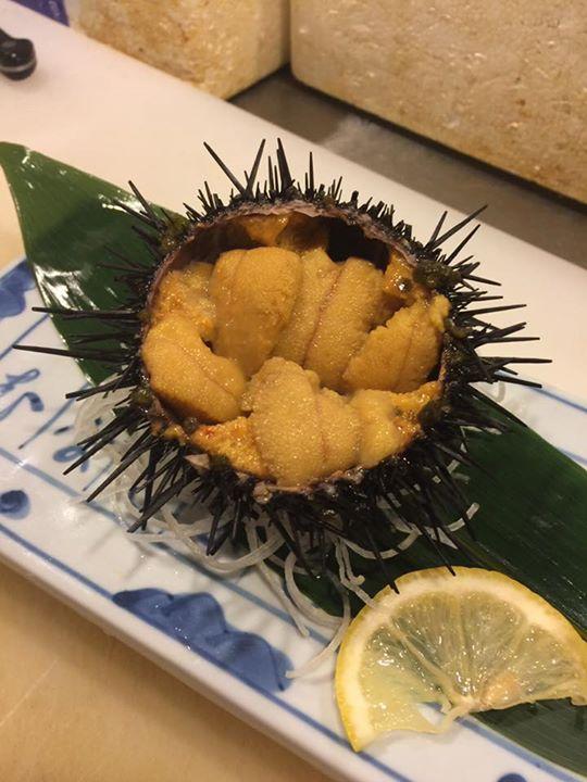 川尻産の新鮮ウニ入荷‼️(^^)ビッグサイズ‼️