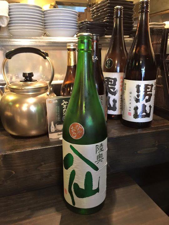 秋のお酒   特別純米酒ひやおろし  入荷してます。