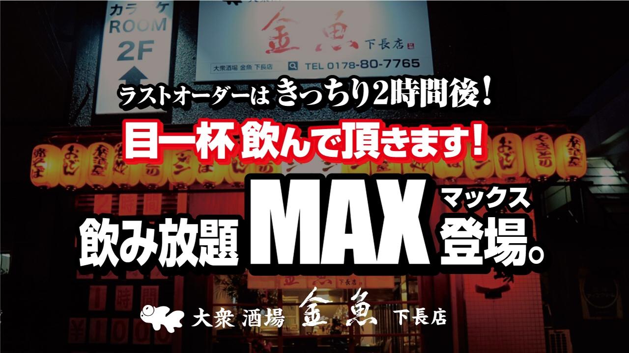 大衆酒場金魚に『新飲み放題プラン』登場!